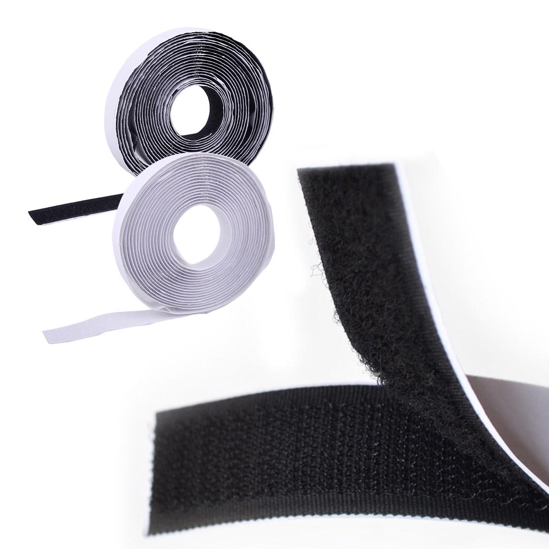 5M Sale Nylon Strong Sticky Back Self Adhesive Tape Hook and Loop 20mm Fastener
