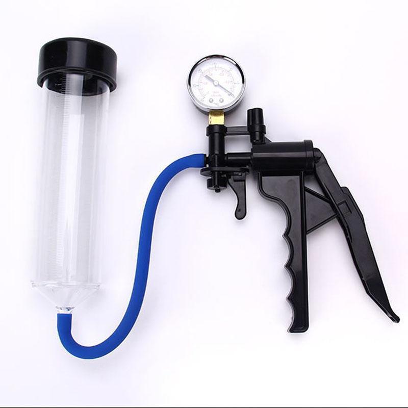 Toys For Adults Men Vacuum Penis Pump Extender Toys Enhance Sex Penis Vibrator Masturbator Exerciser For Male Sex Erection Y18103 Bftlk