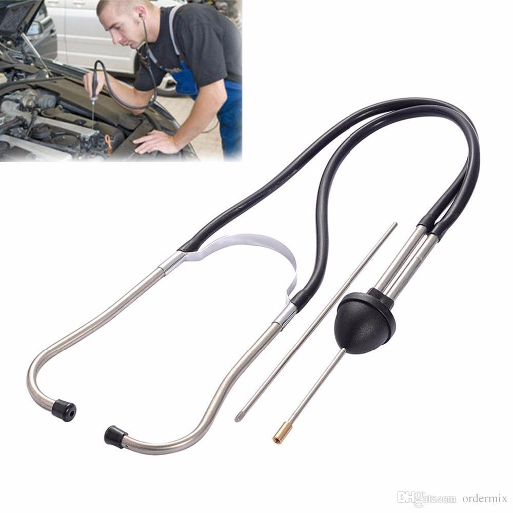 المهنية 1 قطعة ميكانيكا السيارات السماعة محرك السيارة كتلة أداة تشخيص اسطوانة أدوات السمع للسيارات