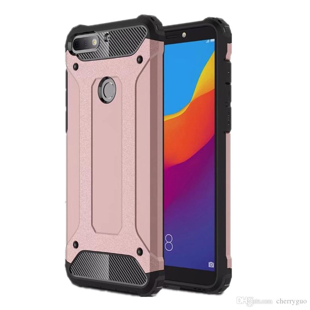 brand new 27635 2d4e6 Phone Case For Huawei Honor 7C Hybrid Shell Armor Rugged Top TPU + Hard  Plastic Shockproof Back Cover Cases For LG G7 Canada 2019 From Cherryguo,  CAD ...