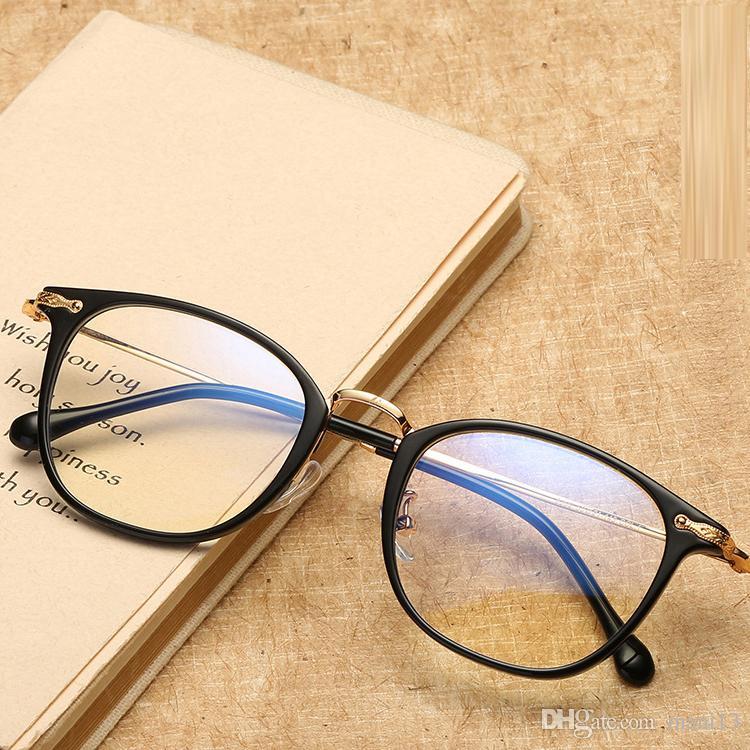 2018 جديد خمر أزياء نظارات إطارات النساء الرجال العين نظارات إطار نظارات قصر النظر الحاسوب أنثى السيدات الرجال النظارات الإطار نظارات