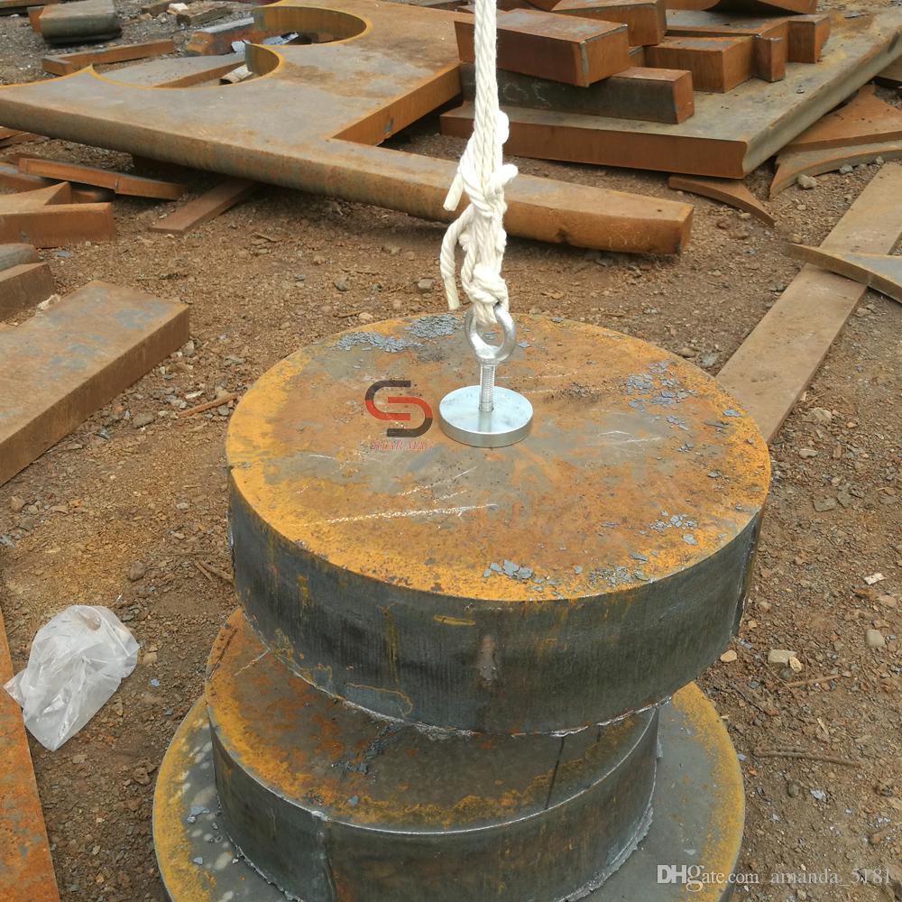 METAL DETECTOR magneti al neodimio 200kg magnete di ricerca per trovare suuuuper Strong