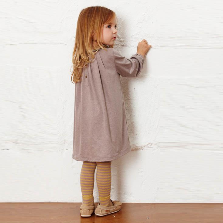 Nuovi vestiti del bambino di autunno del bambino lungo Vestiti causali delle ragazze Vestiti floreali del collare dei bambini Vestiti dei bambini