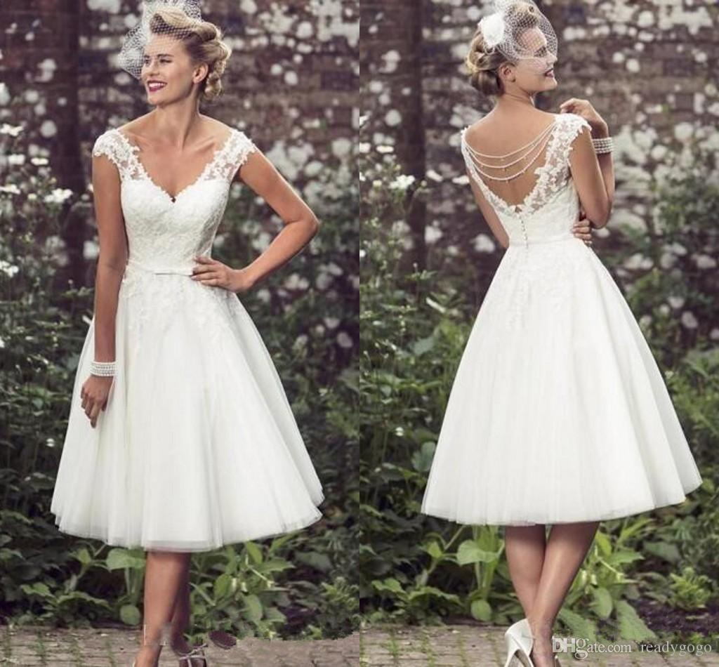 short wedding dresses 2018