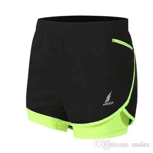 Pantaloncini da running Maratona da uomo 2 in 1 Pantaloncini da allenamento Pantaloncini da allenamento M-4XL Pantaloncini da palestra uomo Tenis Masculino