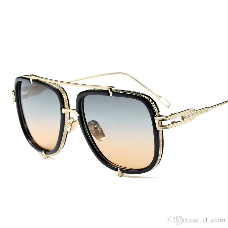 new high quality sunglasses women brand designer ladies fashion coating sun glasses for men Gafas de sol pilot shades