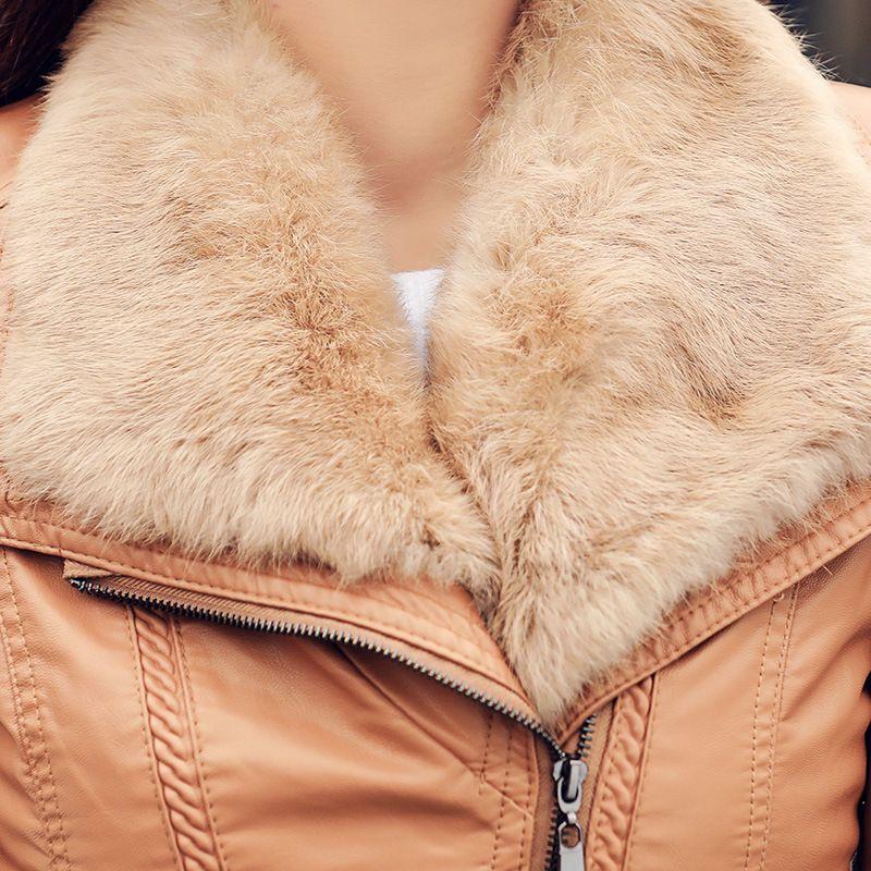 Acheter Femmes Manteau Court En Cuir Faux Biker Veste Veste Souple Couleurs Vives Noir Manteau De Moto Femme Pu En Cuir WKX012 De $69.5 Du Macloth |