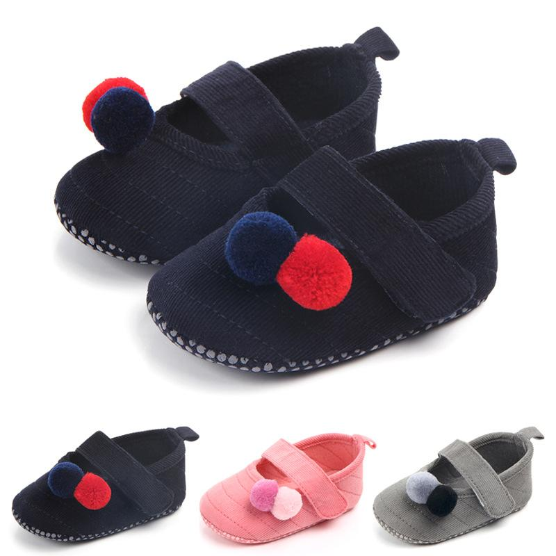 Baby Girl Crib Shoes Infant Toddler Pre-Walker Sandals Size Newborn to 18 Months
