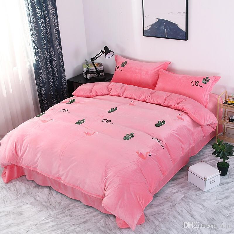 Wholesale New Bedding Set Duvet Cover Sets Bed Sheet European Style Adults Kids Bedroom Sets Queenfull Size Polyester Bedlinen Cheap Bedding Sets