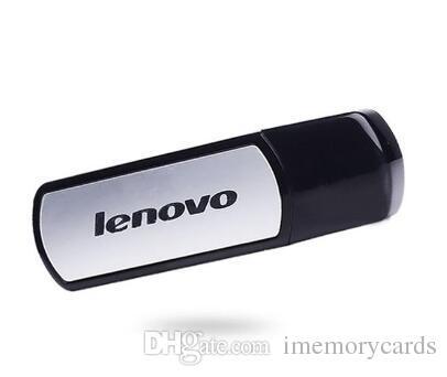 Lenovo T180 USB 플래시 드라이브 Pendrive 32GB 64GB 128GB 256GB USB 2.0 스틱 메모리 스틱 펜 드라이브 소매 패키지 HK Epacket Free