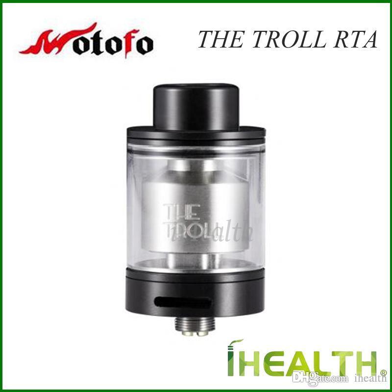 Autentyczne Wotofo The Troll RTA Atomizer Unikalny One Post Design Top Filling 5ml Ogromna pojemność RTA