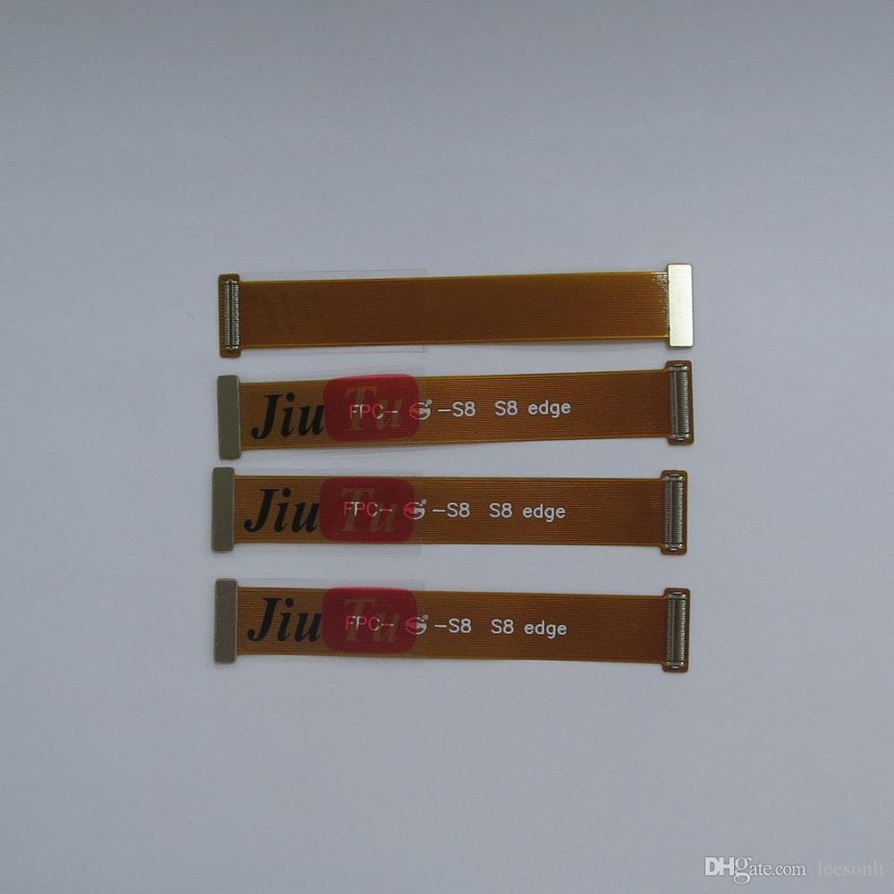 Jiutu para samsung s6 edge / s6 borda plus / s7 edge s8 s8 + nota 8 lcd tela de toque digitador extensão