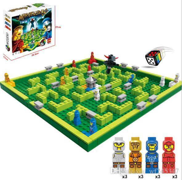 JLB3D22 요소 무심한 풍경 바탕 화면 완구 224 세분화 된 빌딩 블록 인간 조립 퍼즐 어린이 장난감을 설정