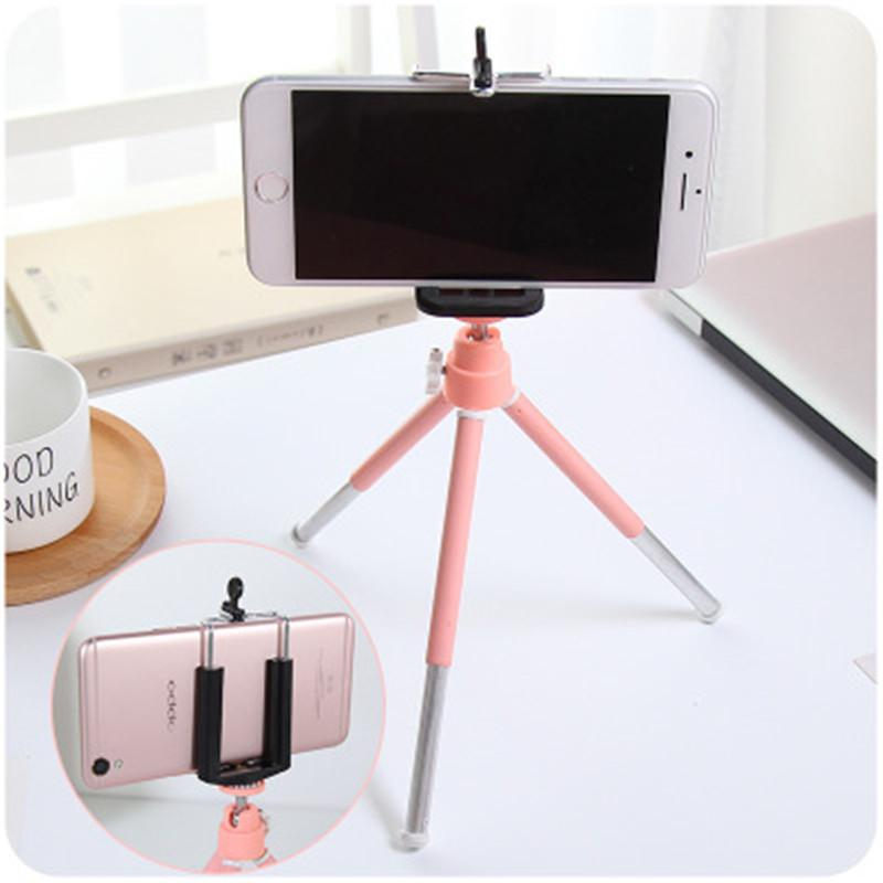 Iphone Stand Phone Small Desktop Telescope Samsung Treppiede Photography 8 Camera Digital Slr Camera Staffa per mini X Treppied Trip OSVT