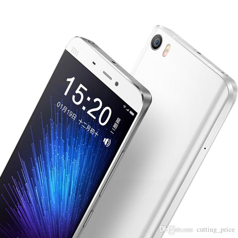 "Original Xiaomi Mi5 Mi 5 4G LTE Mobile Phone 4GB RAM 128GB ROM Snapdragon 820 Quad Core Android 5.15"" FHD Screen 16.0MP NFC 3000mAh Fingerprint ID Smart Cell Phone"