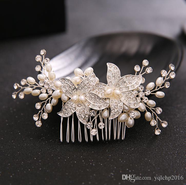 Pettine, studio fotografico decorazione, perline diamantate, testa ornamenti, accessori da sposa, abiti da sposa da sposa
