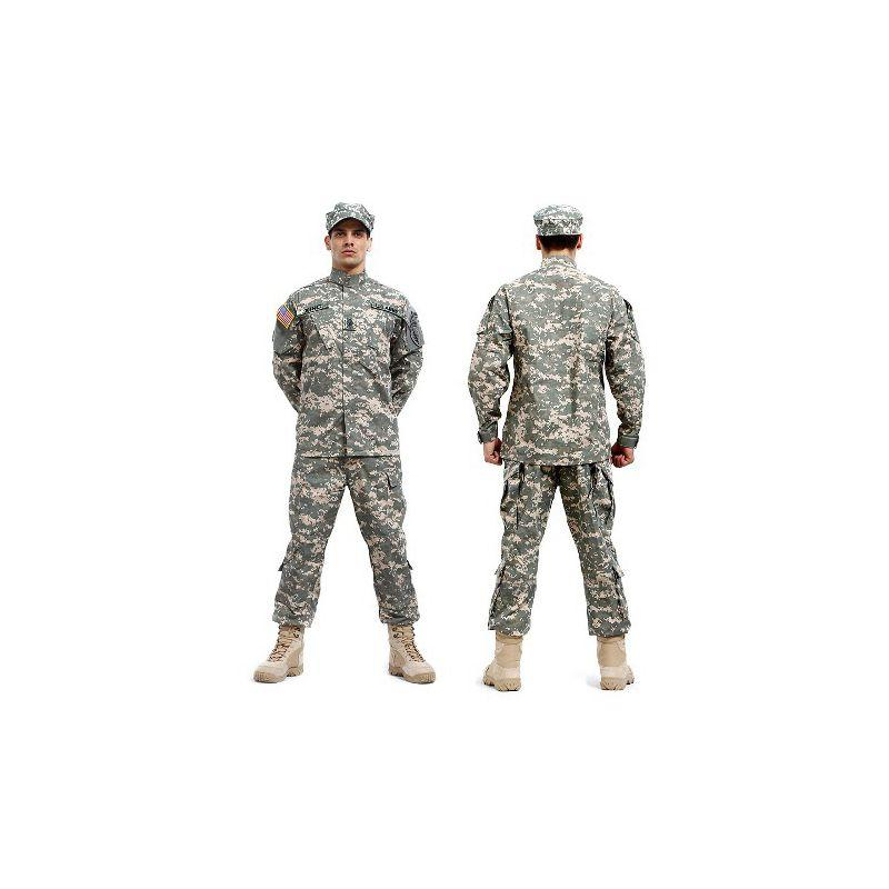 Pantaloni tattici dell'esercito esercito e camicia Camouflage impermeabile BDU uniforme da combattimento US Uomo Set di abbigliamento Whosale