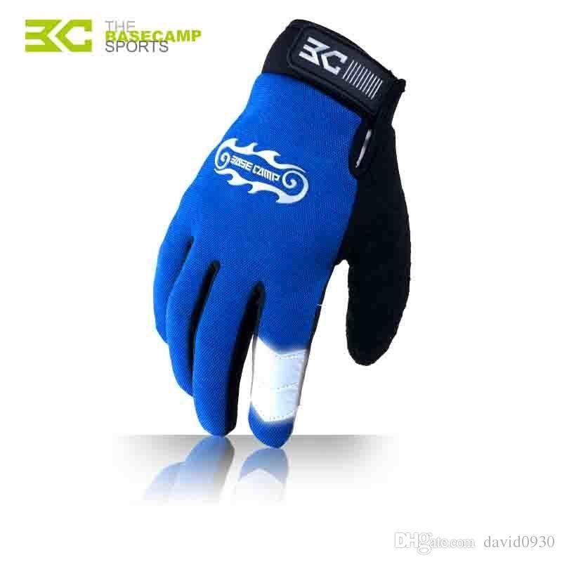 Fleece Full Finger Telefingers Cycling Gloves Guantes Ciclismo Luvas Inverno MTB Bike Bicycle Motocross Gants Velo BC-261