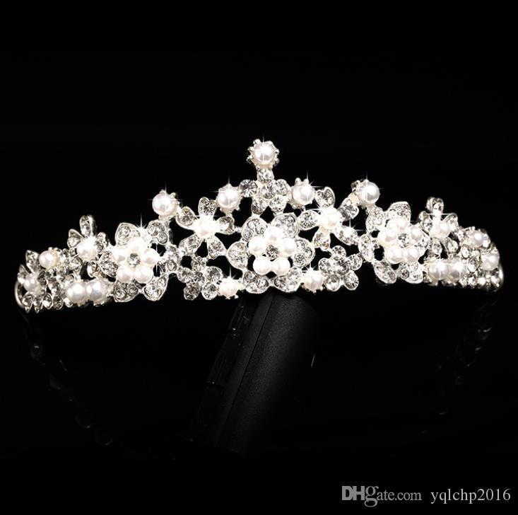 2018 New alloy headwear wedding crown wedding dress accessories crown crown