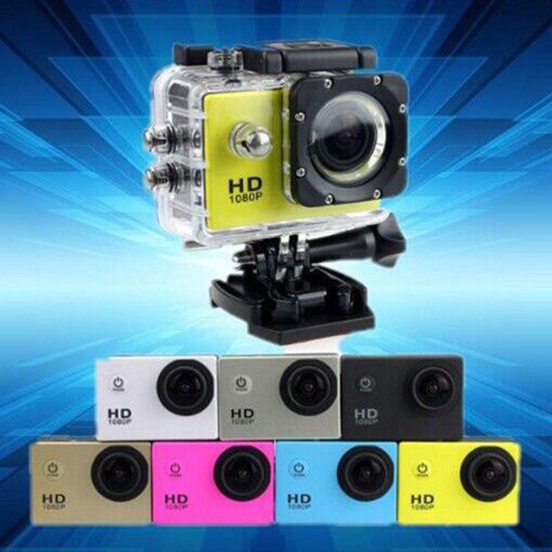 SJ4000 1080P Multi-Function Mini Waterproof Sports DV Recorder Full HD Action Digital Sport Camera 2 Inch LCD