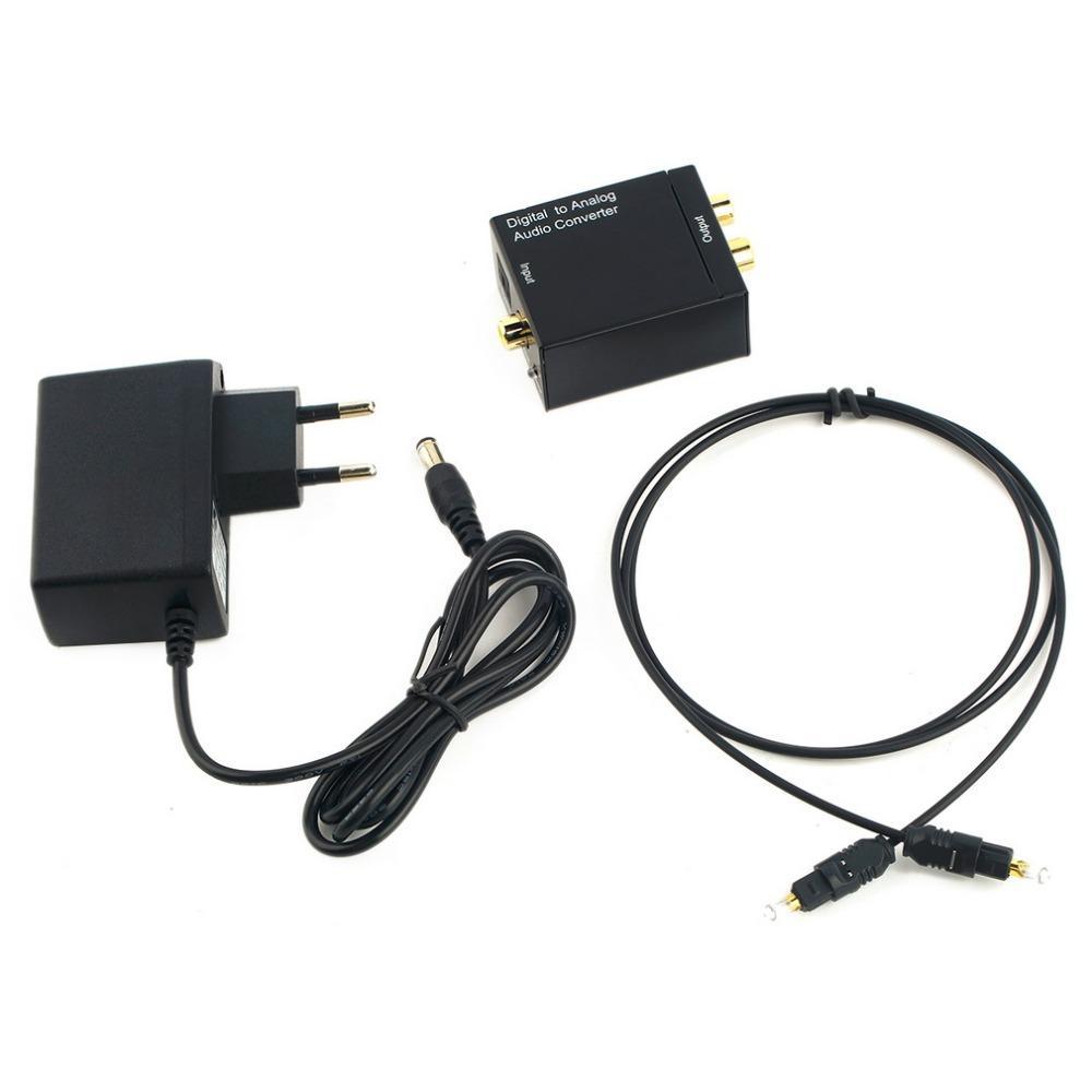 Freeshipping USB-Daten-Aufladeeinheits-Kabel führen digitalen optischen Koaxial Toslink Signal zu analogem Audiokonverter für Fahrwerk-Handy KG90 KG70