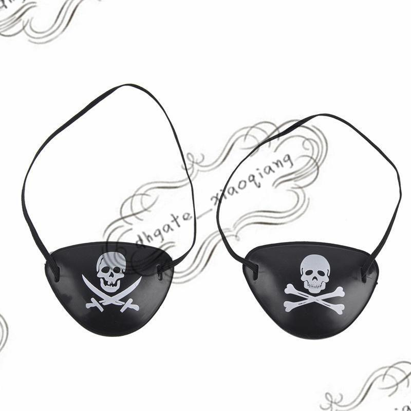Pirate Eye Patch Skull Crossbone Halloween Party Favore Borsa Costume Kids Toy