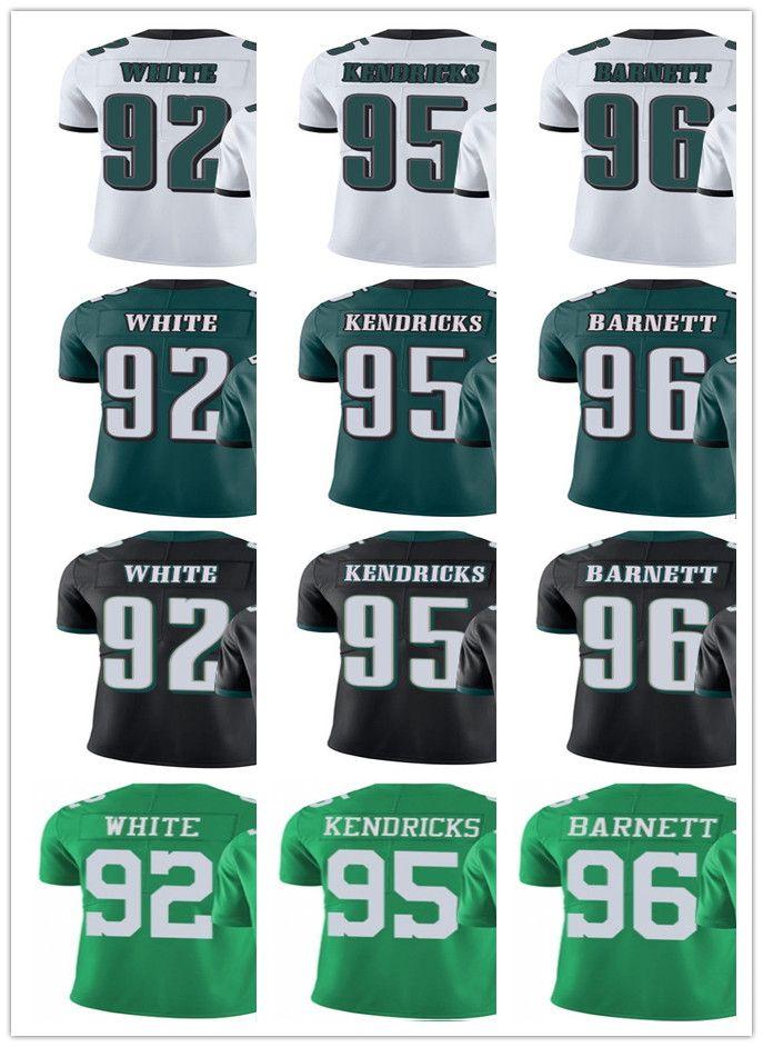 1be4851b1 custom Philadelphia Eagle Jersey Men Women Youth #92 Reggie White 95 Mychal  Kendricks 96 Derek Barnett Vapor Limited Jerseys