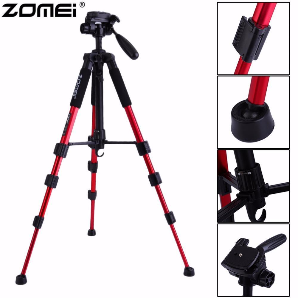 Original Zomei Portable Q111 Heavy Duty trípode para cámara de aluminio para cámara SLR con bolsa de transporte Envío de la gota