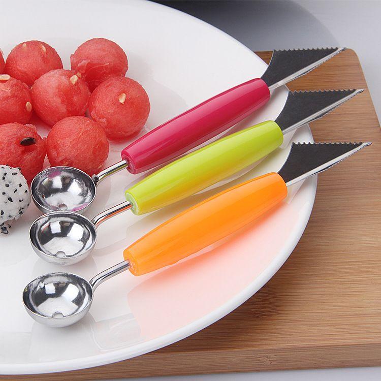 Acier Inoxydable Portable Watermelon fruits glaces Dig boule Scoop Cuillère Outil