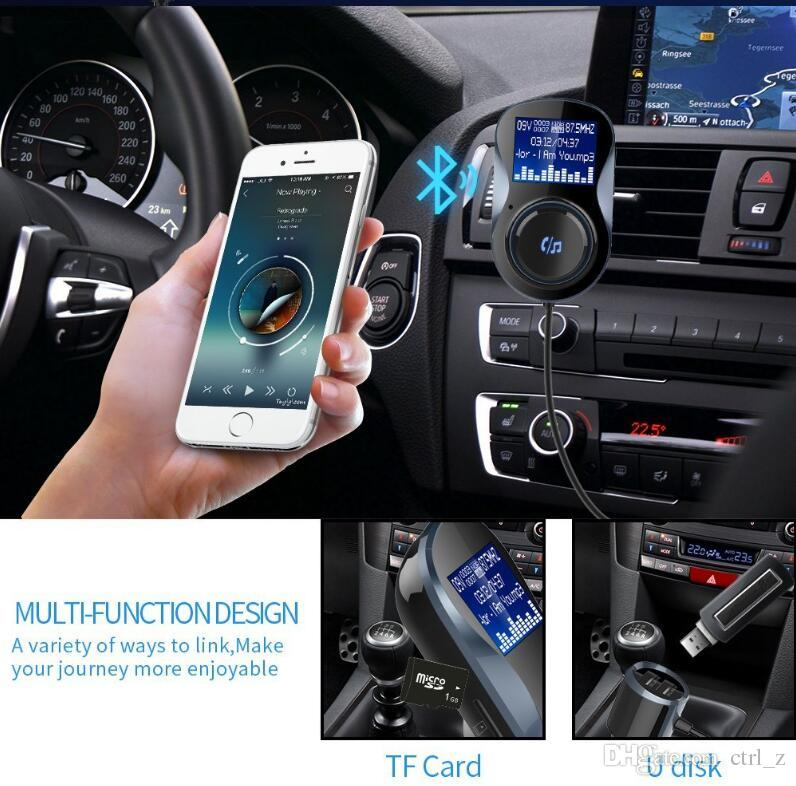 BC30 Car MP3 Bluetooth Hands Free Kit Kit TF Card Memory Lossless Music  Play Car FM Transmitter Dual USB Fast Charger From Ctrl_z, $13 27|  DHgate Com