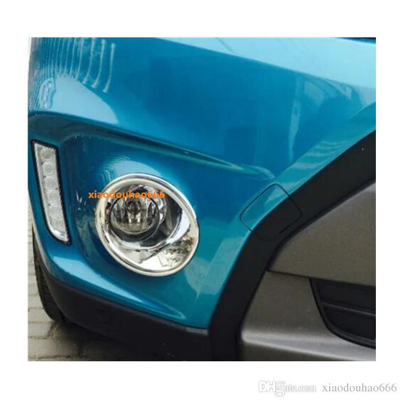 For Suzuki Vitara 2016-2018 Chrome ABS Front Headlight Lamp Decor Cover Trim