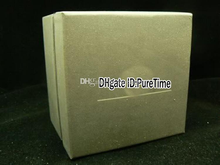 Hight Qualität TagBox Graue Leder Herren Original Großhandel Box Uhren mit Papierkasten Damen Zertifikatkarten Geschenk Watch Taschen PureTime WCHDX