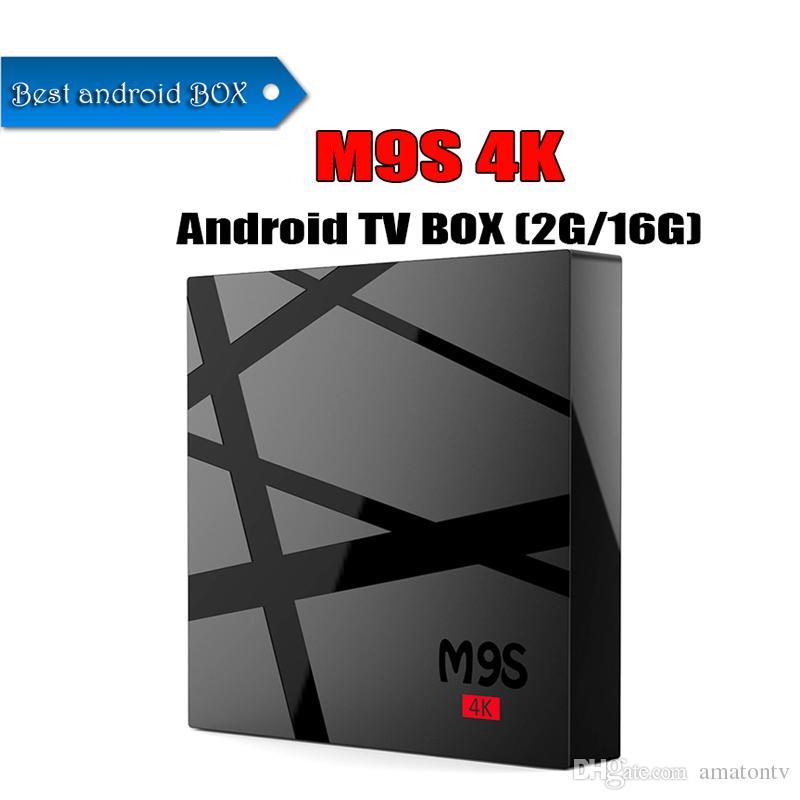 M9S 4K 16G 2G Box RK3229 Android 6.0 TV New MXQ PRO 4K Live TV Box Video Streaming Online WIFI Smart Media Player TV BOX
