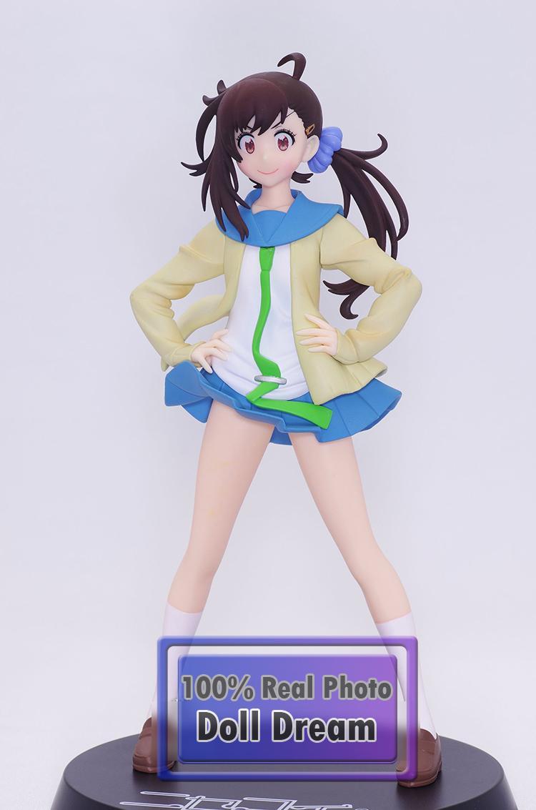 1 adet 1/8 Japon orijinal anime figürü Nisekoi Onodera Haru action figure koleksiyon model oyuncaklar boys için