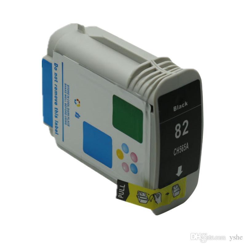 Yedek HP 82 82XL yazıcılar Için Mürekkep Kartuşu CH565A Designjet 10 adet 120nr 20 adet 500 500 Artı 500 adet 50 adet 510 800 800 adet 815 820 Mürekkep