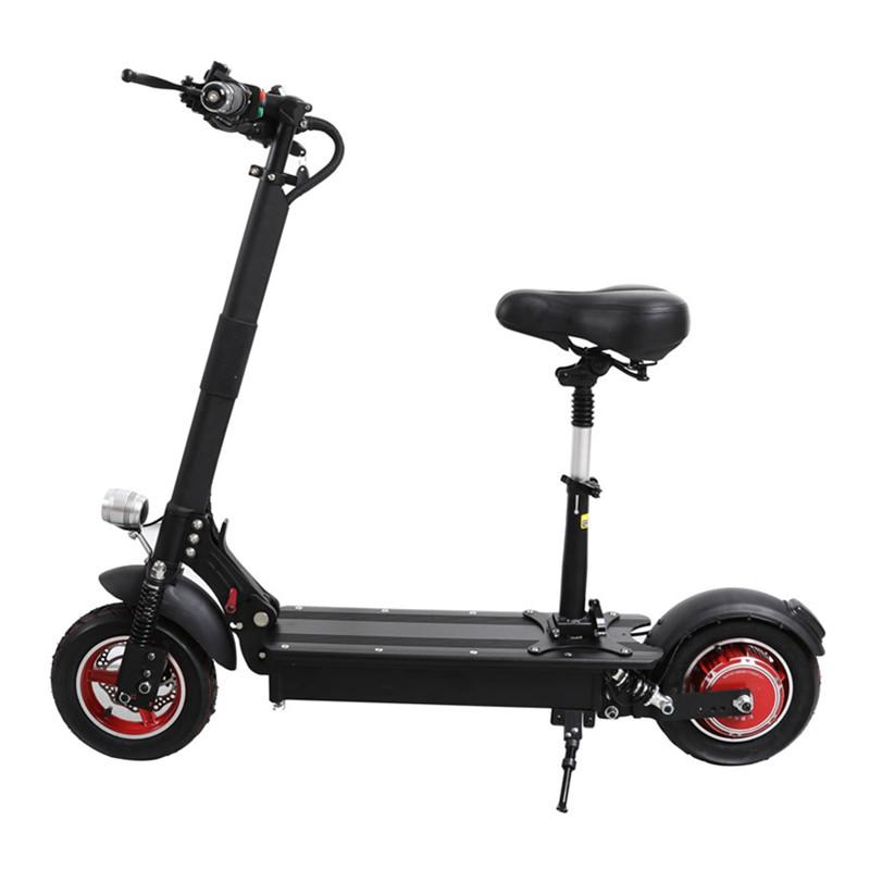 Folding Electric Scooter >> Ubgo 1003 Folding Electric Scooter Electric Scooters 10 Inch Single Drive 1000w 52v 48v Waterproof Electric Scooter For Adults Balancing Scooter Self