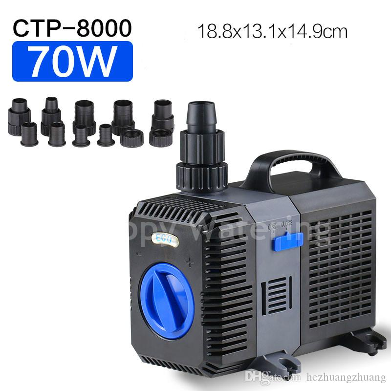 CTP-8000 Type 70W Pond Pump for Water Fish Tank Fountain With 8000L/H 5.6M Lift