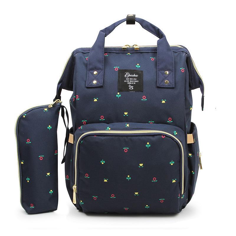 2018 Baby care Diaper stroller Bag With Large Capacity Waterproof Nappy Bag Kits Mummy Maternity Travel Backpack Nursing Handbag