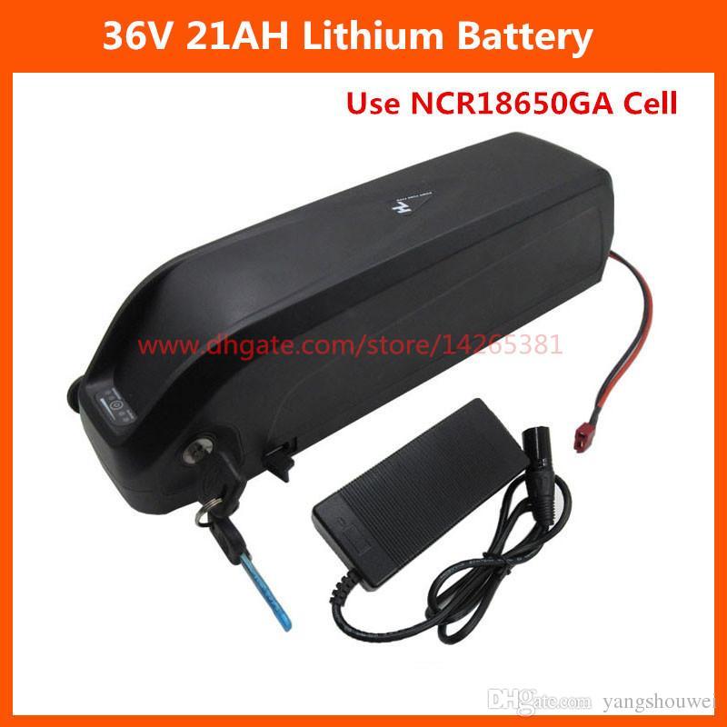 Aşağı tüp Hailong 36 V 21Ah pil 1000 W 36 V lityum pil 21AH USB Portu ile Kullanın GA 3500 mah hücre 2A Şarj