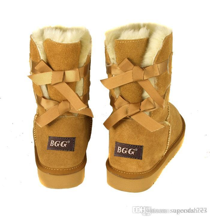 HOT 2019 SALE New Fashion Australia classic NEW Womens boots Bailey BOW Boots Snow Boots for Women boot gift