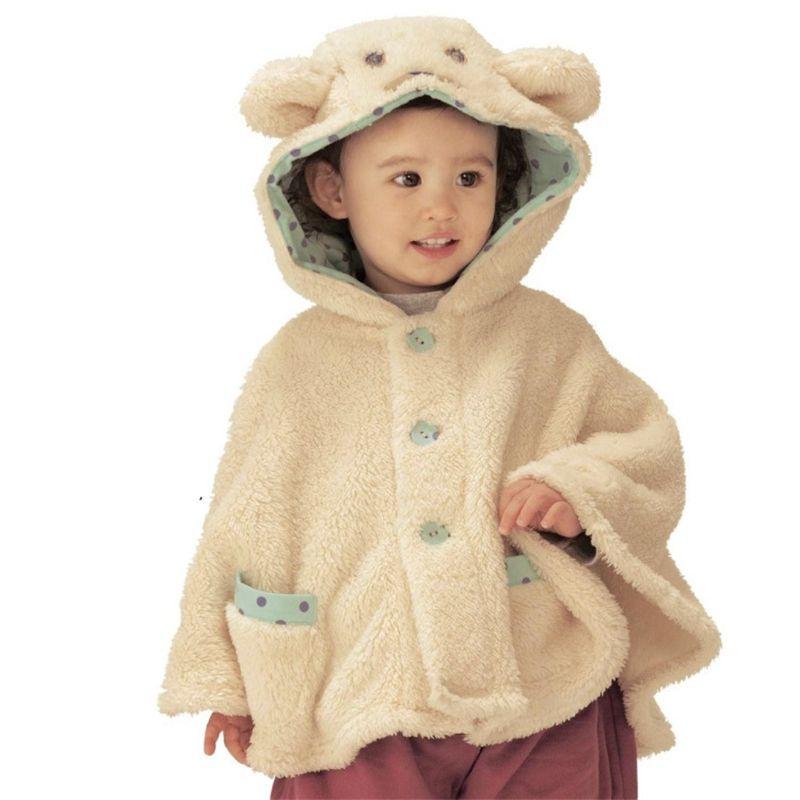 новорожденный девочка розовый яркий бархат кардиган детские дети девушка верхняя одежда девушки зимнее пальто малыш мальчик пончо бесплатная доставка