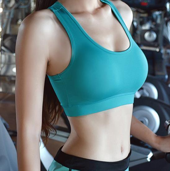 Sexy women fitness bra padded compression sport bra top Sportswear Quick dry elastic crop top sexy running top yoga bra ladies