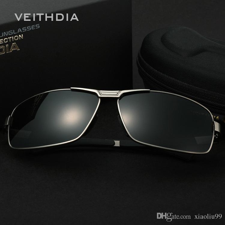 Compre Nova VEITHDIA Alumínio Magnésio Dos Homens Óculos De Sol  Revestimento Polarizado Espelho Óculos De Sol Oculos Masculinos Eyewear  Acessórios De ... 080ad6daf9