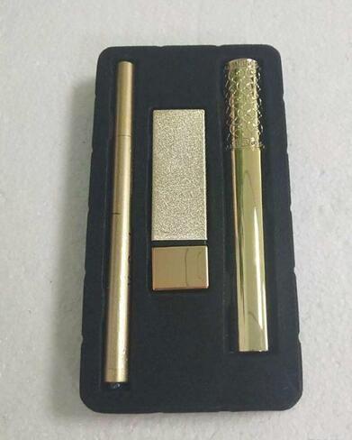ePacket Free Shipping Hot New Brand Makeup Set 3pcs/Set Mascara Lipstick Eyeliner 3 in 1 SET 2 styles Set A/B Cosmetics
