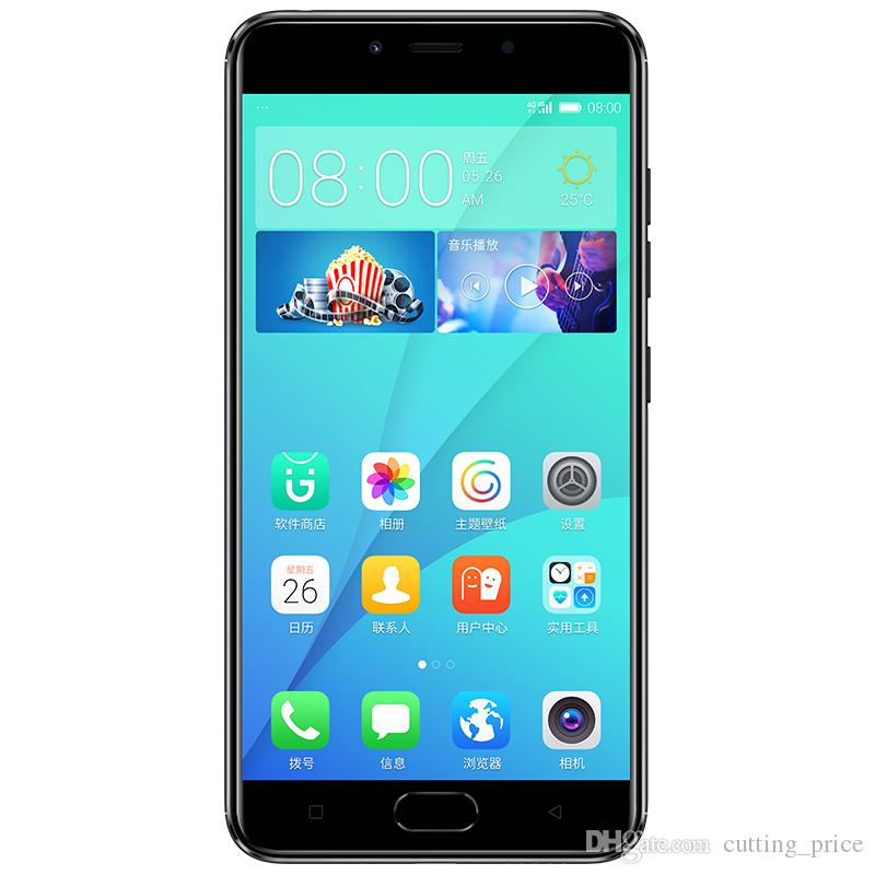 Original Gionee S10C 4G LTE Cell Phone 4GB RAM 32GB ROM Snapdragon 427 Android 5.2 inch 16.0MP Fingerprint ID Smart Mobile Phone