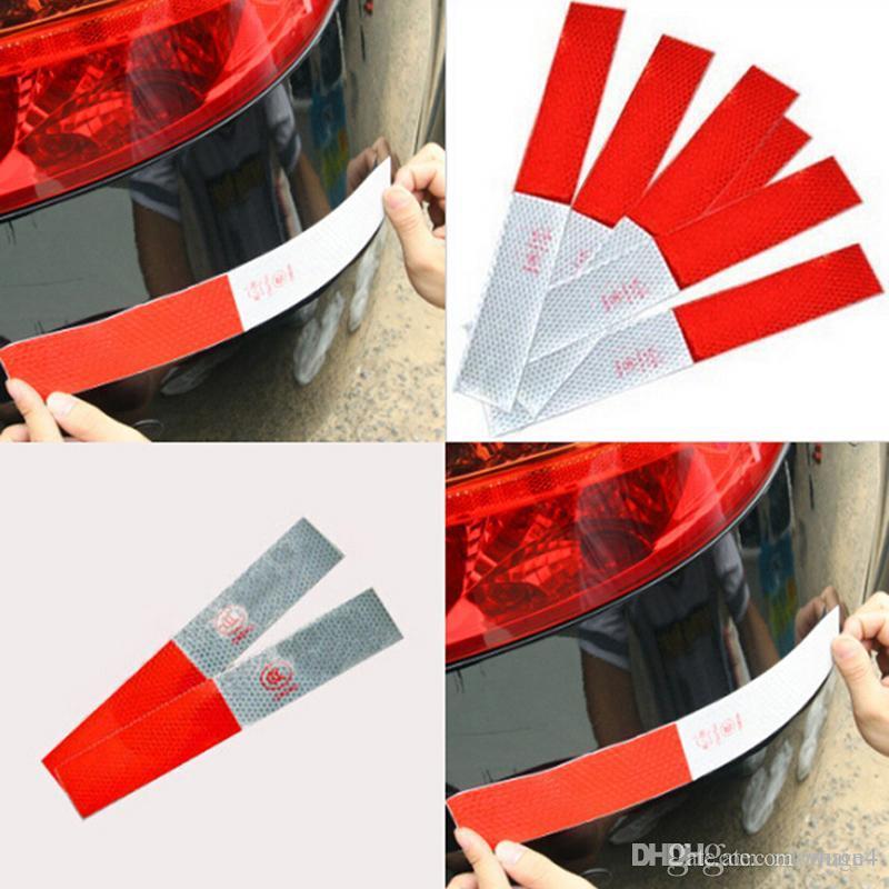 10x Car Reflective Sticker Warning Strip Reflective Truck Night Driving Safet ME