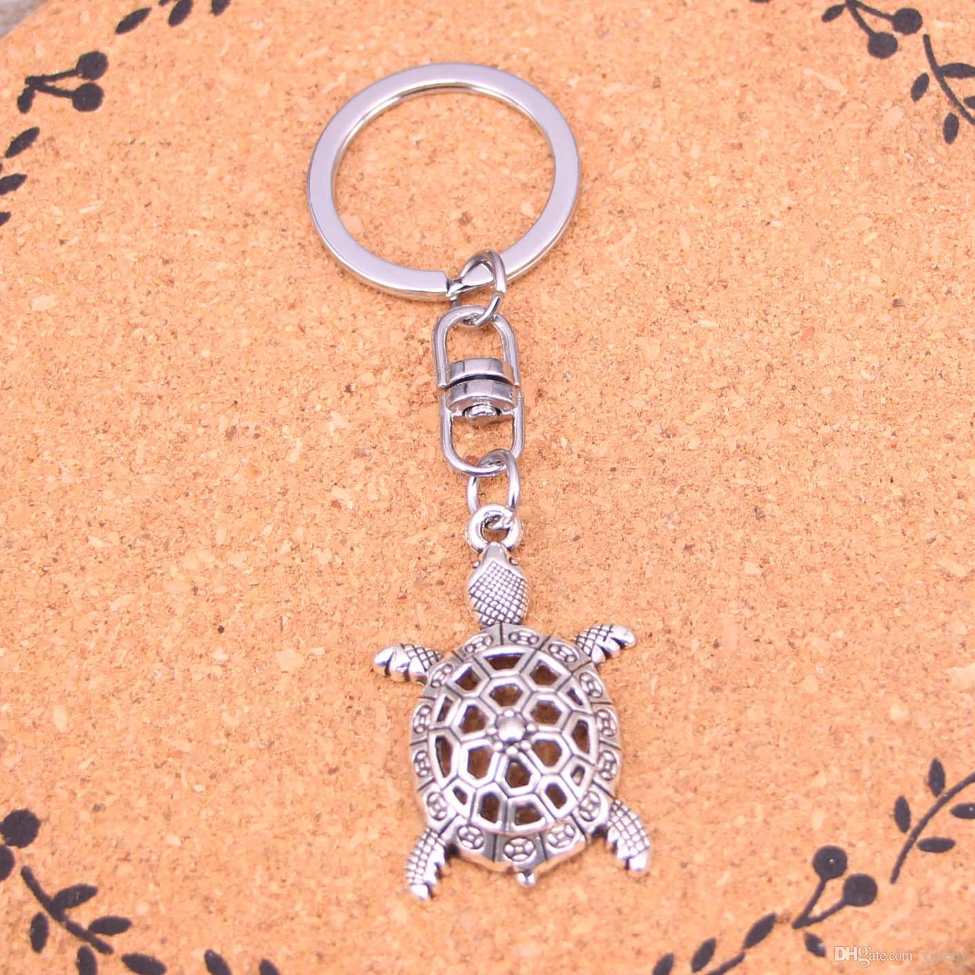 Sea Turtle Keyring Key Ring Gift Animal Lovers Tortoise Souvenir