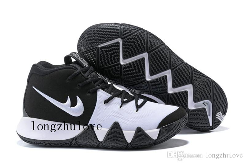 best website f4b0c 6ba13 Cheap 2018 Dark Green Zoom Kyrie 4 Basketball Shoes Mens Kyrie Irving 4  Shoes Kyrie 4s Running Shoes Size Us7 Us12 Loafers For Men Red Shoes From  ...