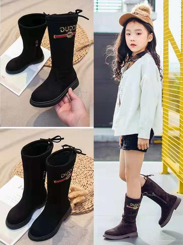 Famous Brand Girl Winter Boot Brown