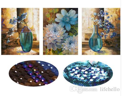 5D,Special Shaped,Diamond Embroidery,Flower,Vase,Full,DIY,Diamond Painting,Cross Stitch,Diamond Mosaic,Bead Picture,Decor